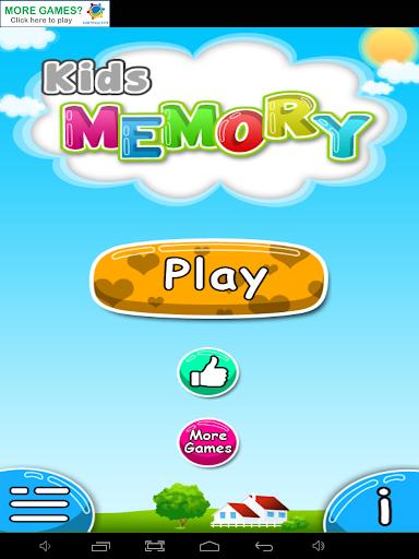 Kids Memory Fruits