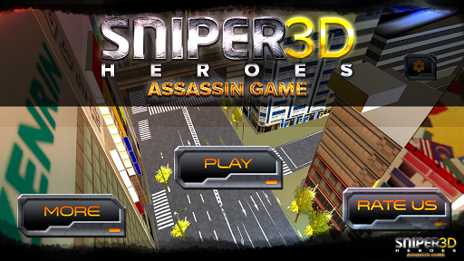 スナイパーヒーロー3Dアサシンゲーム