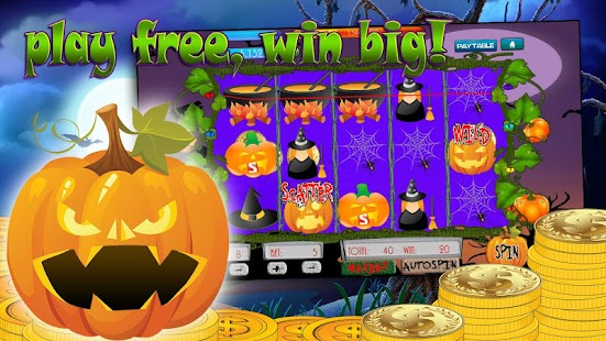 Spooky Halloween slot machine screenshot