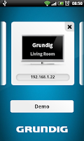 Screenshot of Grundig Smart Remote