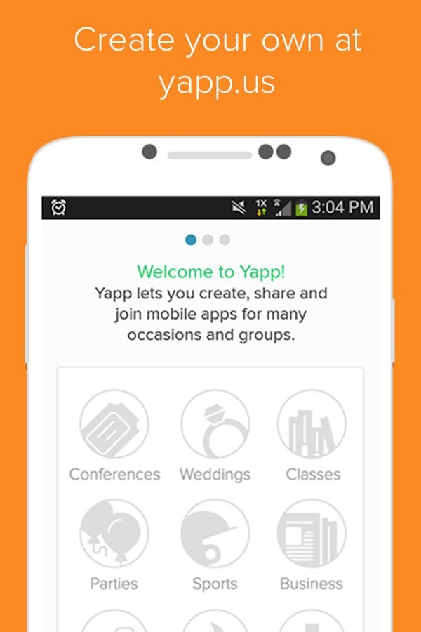 Yapp - screenshot