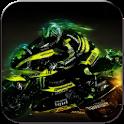 Speedy moto racing icon