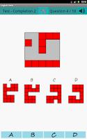 Screenshot of Logical test
