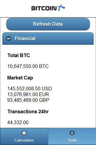 Btx Calculator - screenshot