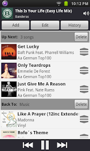 Remote for iTunes DJ & UpNext - screenshot thumbnail