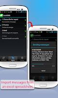 Screenshot of SA Group Text Lite