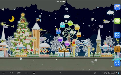 My Christmas Wonderland LWP - screenshot thumbnail