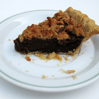 Chocolate Sweet Potato Pie