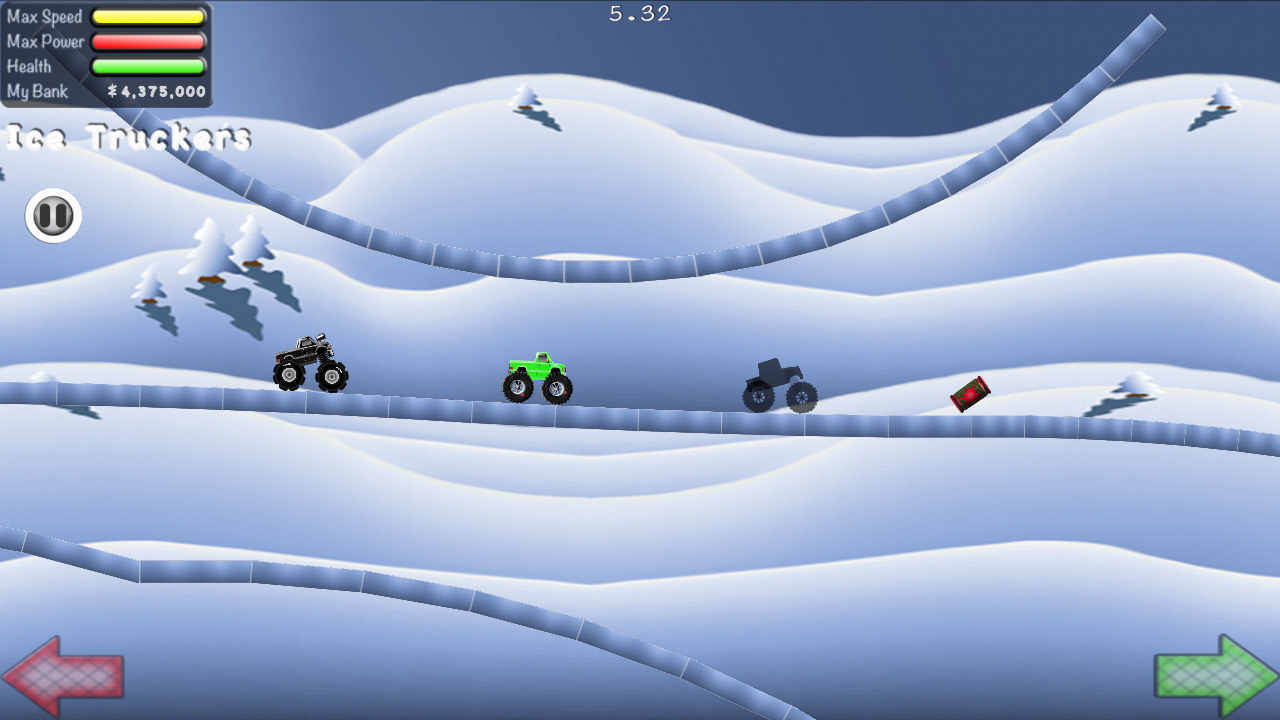 Truck Rally Racing - power ups- screenshot