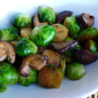 Chicken Mushrooms Brussel Sprouts Recipes.