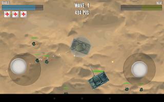 Screenshot of Tank Rage