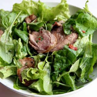 Seared Lamb Salad.