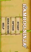 Screenshot of Bamboo Ninja