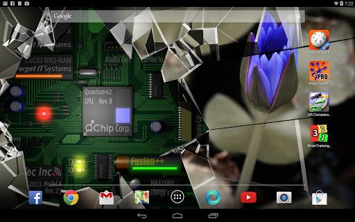 Cracked Screen Gyro 3D Parallax Wallpaper HD 1.0.5 screenshots 6