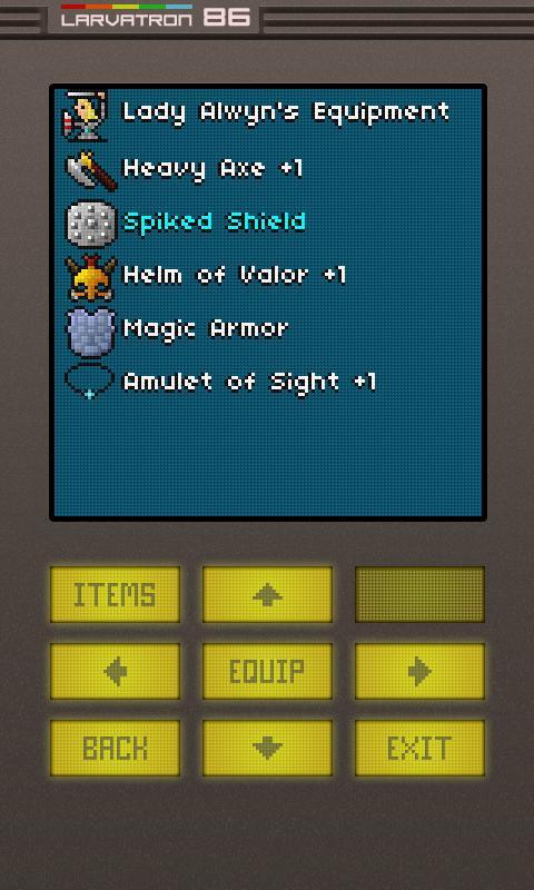 Gurk II, the 8-bit RPG - screenshot