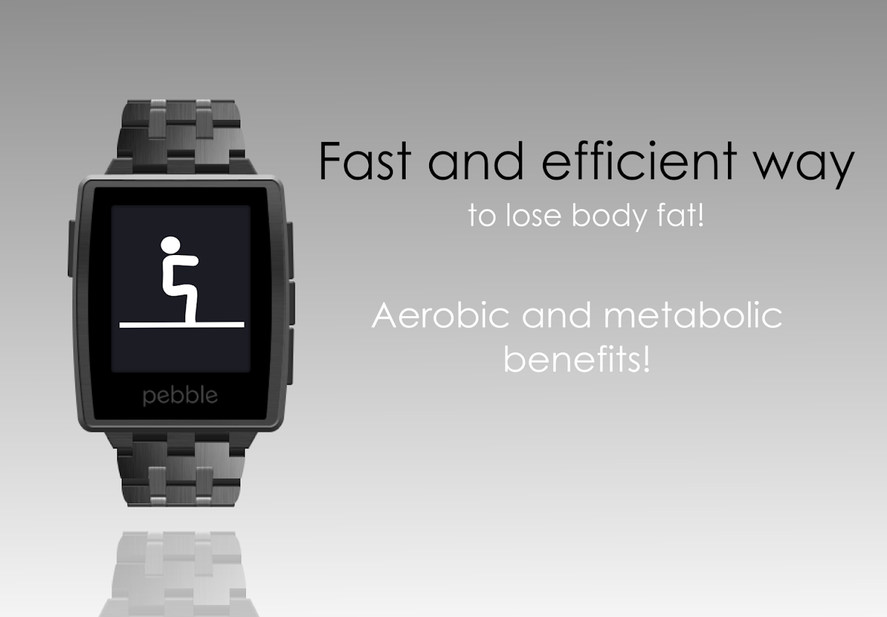 Workout for Pebble- screenshot