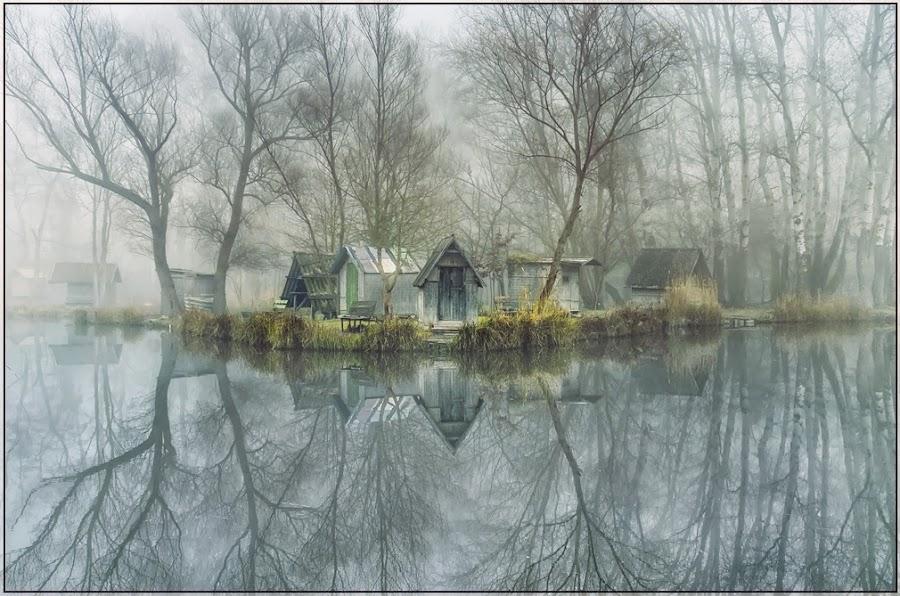 Land's end by Gabor Dvornik - Landscapes Waterscapes ( season, color, impression, cpt, mood, landscape, light )