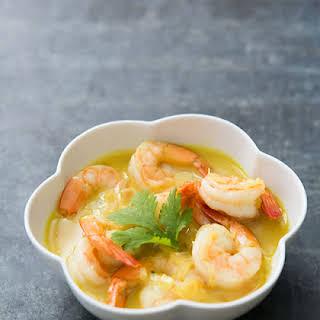 Easy Coconut Shrimp Curry.