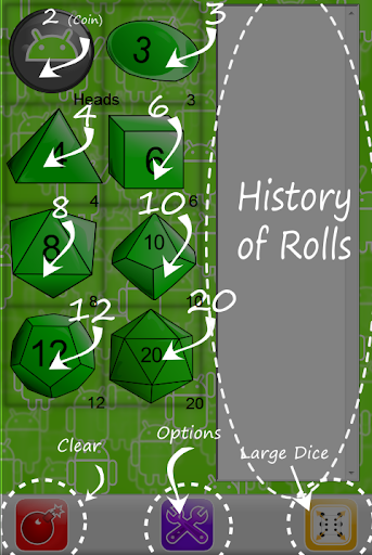 Hatcher Dice Tabletop RPGs