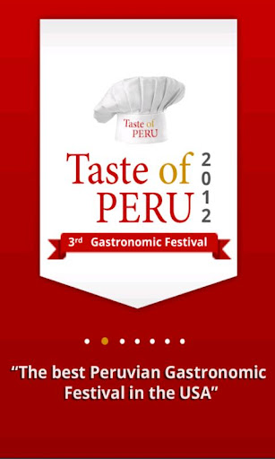 Taste of Peru 2012