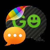 GO SMS pro Carbon pro THEME