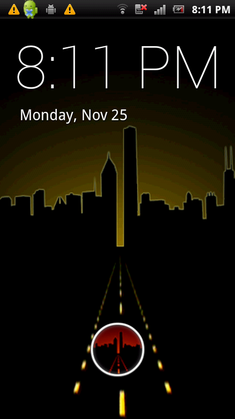 City Skyline Live Wallpaper - screenshot
