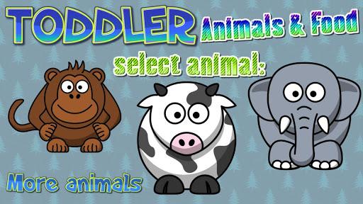 【免費休閒App】幼儿 : 动物及食品-APP點子