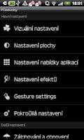 Screenshot of GO LauncherEX  czech langua