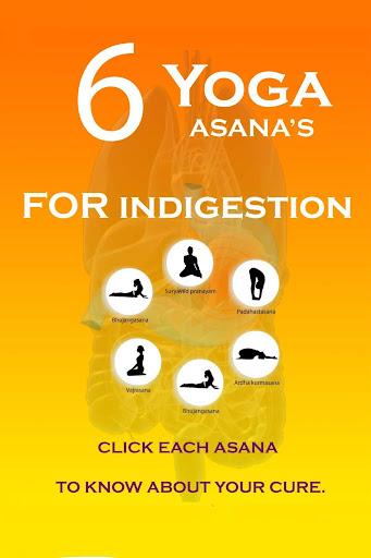 Yoga Poses Indigestion trouble