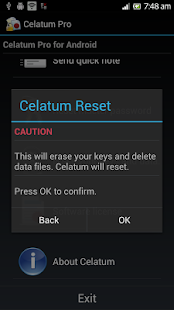 Celatum Pro Secure Chat, Notes- screenshot thumbnail