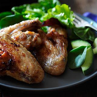 Lemon And Garlic Chicken Wings