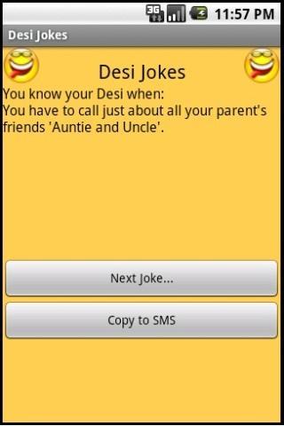 Desi Jokes - screenshot