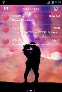 GO SMS Pro Valentine Day - screenshot thumbnail