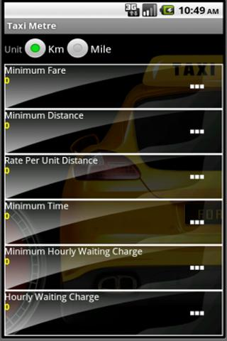 Taxi Metre - screenshot