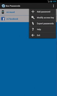 Box Security Passwords - screenshot thumbnail