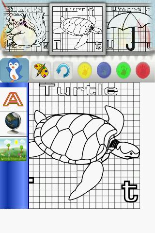 Coloring Alphabet Free - screenshot