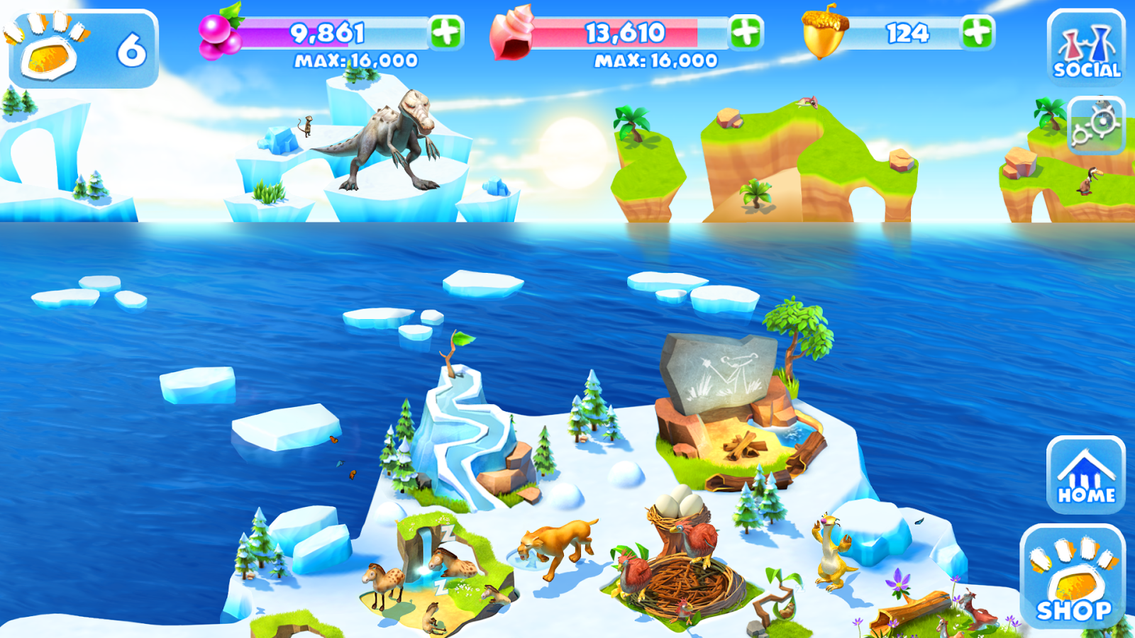 Ice Age Adventures- screenshot