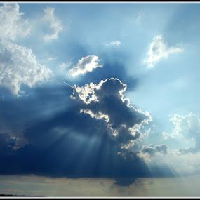 Clouds by Aleksandar Filipović - Landscapes Cloud Formations ( clouds, blue, sun )