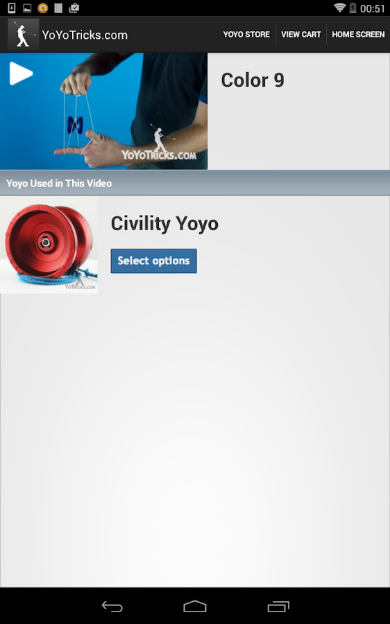 Yoyo Trick Videos and Store- screenshot