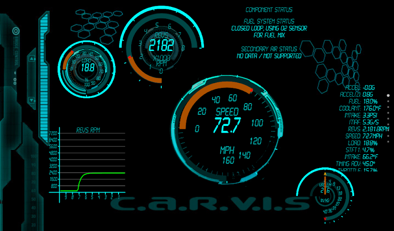 Torque 48 Pack and Editor OBD2 Screenshot