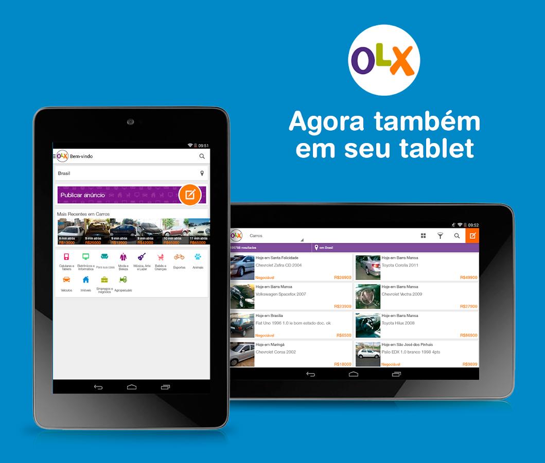 OLX Classificados Grátis – Apps para Android no   Play #0087C7 1059x900