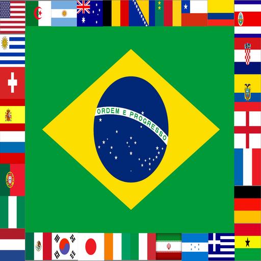 Flagz World Cup 2014 Puzzle 解謎 LOGO-玩APPs