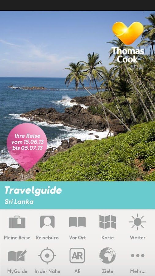 Thomas Cook Travelguide - screenshot