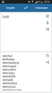 Indonesian English Translator 2.3.3