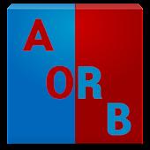 양자택일, A or B