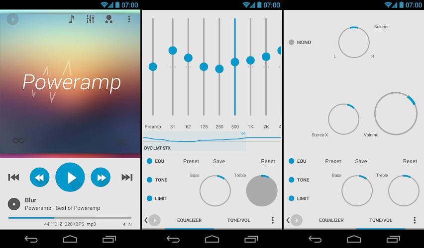 Download Skin for Poweramp v2 Flat Light APK latest version