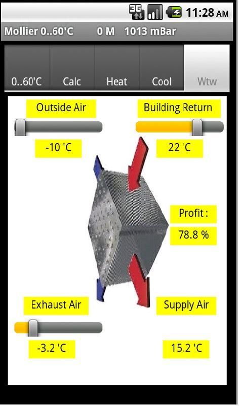 Mollier- screenshot