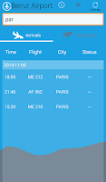 Screenshot of Beirut Airport