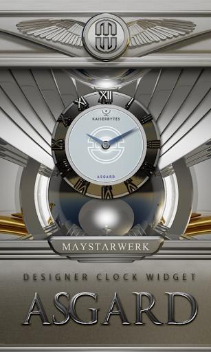 Clock Widget Asgard