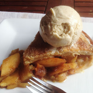 Superlative Apple Pie with Homemade Vanilla Ice Cream